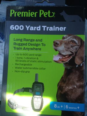 Premier pet yard trainer 600 new for Sale in Amarillo, TX