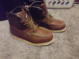 Red wing work boots. Confortable boots. Size 10 $180 Firm no less. for Sale in San Bernardino, CA