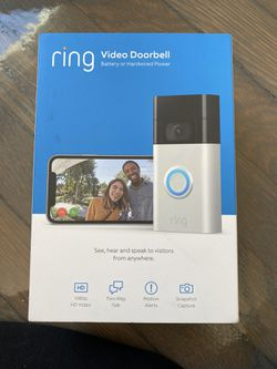 Ring door bell for Sale in Worcester,  MA