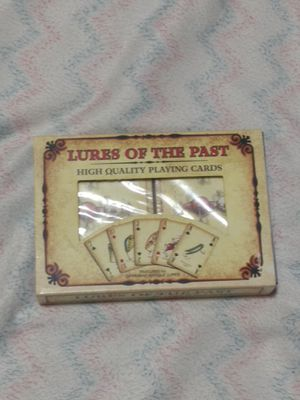 Lures of the Past playing cards for Sale in Mesa, AZ