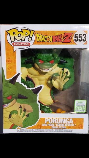 "PORUNGA ""DragonBall Z"" 6"" Funko POP! Animation #553 for Sale in Wesley Chapel, FL"