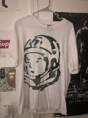 BBC camo and plaid spaceman shirt for Sale in Stockton, CA