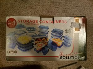 Gourmet Solutions 54 Piece Storage Containers for Sale in Broadview Heights, OH