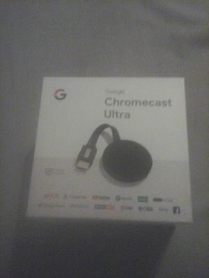 Google Chrome cast Ultra for Sale in Zephyrhills Colony Company, FL