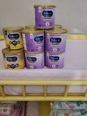 12 Brand new Enfamil formulas, 4 never used NUK bottles and a whole box of NB diapers for Sale in St. Louis, MO