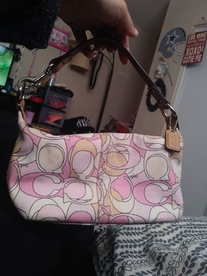 Small pink Coach purse for Sale in Phoenix, AZ