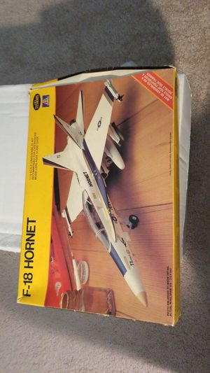 F-18 Hornet kit plus parts for Sale for sale  Indianapolis, IN