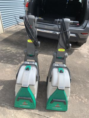 Bissell Green Machine Shampooers for Sale in Houston, TX