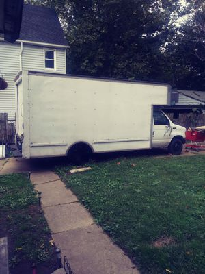 Trade Box truck 1993. E350 for a van for Sale in Cleveland, OH