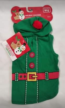 Christmas Elf Dog Hoodie New Size Small for Sale in Oklahoma City,  OK