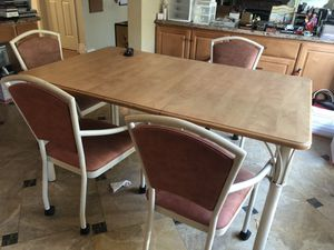 Maple wood breakfast table for Sale in Cupertino, CA