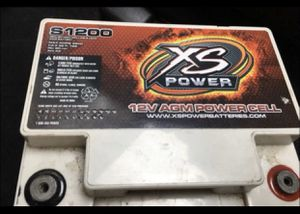 XS CAR AUDIO BATTERY for Sale in Chicago, IL