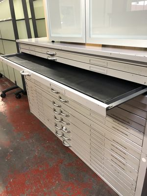 Used Flat File (2) - For architectural/blueprints/engineering documents $499 for Sale in Portland, OR
