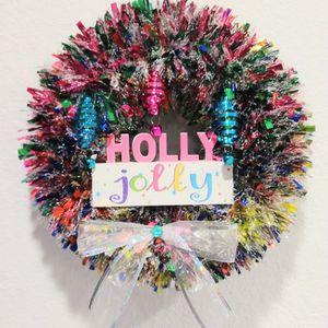 Holly Jolly Wreath for Sale in Boca Raton, FL