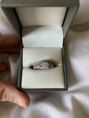 Antique Engagement Ring and wedding band for Sale in Marlborough, MA