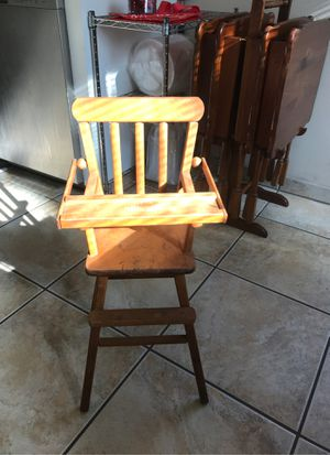 Antique doll high chair for Sale in Pico Rivera, CA