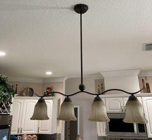 4 light kitchen island pendant for Sale in Miami, FL