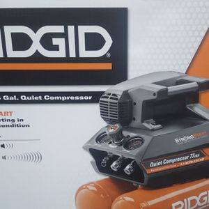 Ridgid Quiet Air Compressor Brand New for Sale in Pittsburgh, PA