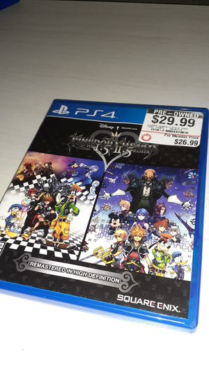 Kingdom hearts I.5+II.5 for Sale in Fort Lauderdale, FL