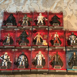 Star Wars Elite Series Die-Cast Action Figures Lot Of 14 All New In Box for Sale in Phoenix, AZ