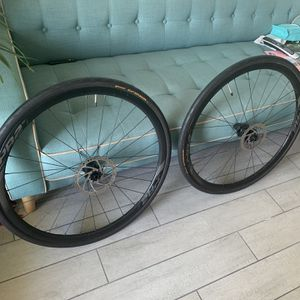 Giant PR-2 Disc Wheelset With 700x28 Tires And Brake Rotors for Sale in Miami, FL