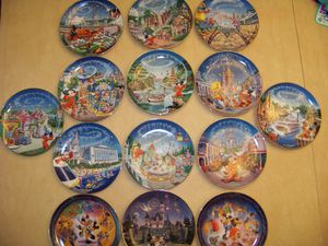 Disney Collectible Plates-$15 Each or $150 For All for Sale in Yonkers, NY
