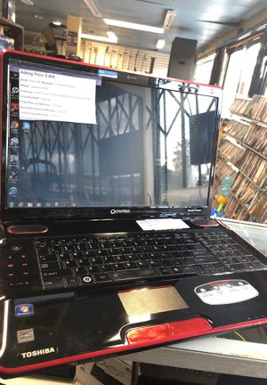 Toshiba QOSMIO Laptop with charger for Sale in San Diego, CA