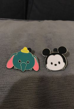Disney Pins Mickey and Dumbo for Sale in Mukilteo,  WA