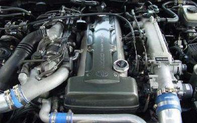 Toyota Supra spark plug cover