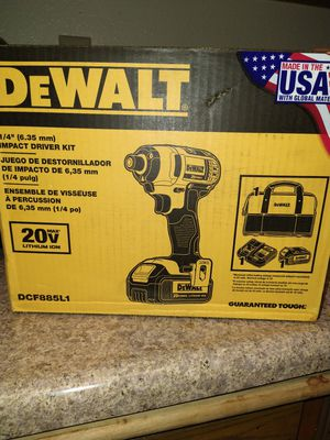 DeWalt 20V Max Whit Battery 3.0 and Charge for Sale in Chula Vista, CA