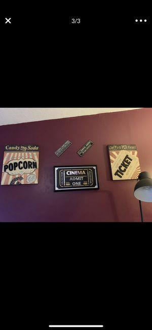 Cinema/Theater home decor for Sale in Homestead, FL