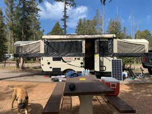 2016 Popup pop up camper high wall with extras. Under NADA LOW for Sale in Castle Rock, CO