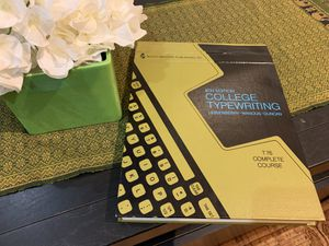 1969 Vintage typewriting instructions for Sale in Herndon, VA