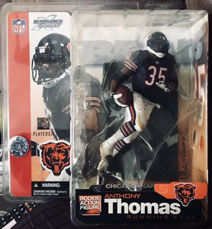 """2001 McFarlane NFL Rookie Action figure Anthony """"A-Train"""" Thomas for Sale in Chicago, IL"""