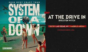 System of a Down - 2 GA tickets for Sale in Las Vegas, NV