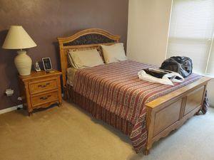 Queen size bedroom set for sale for Sale in Hampton, VA