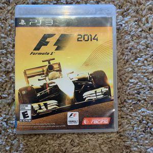 PS3 Formula 1 F1 2014 for Sale in Iowa City, IA