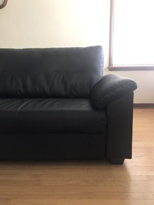 Black Couch (IKEA Knislinge Sofa) for Sale in Portland, OR