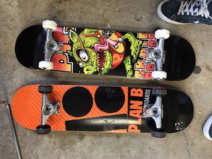 Skateboard complete beginner 7.5 pig wood plan b for Sale in Houston, TX
