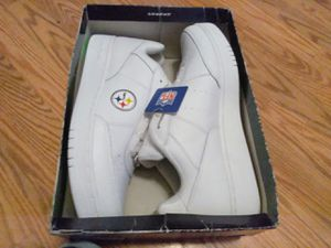 Size 13 Pittsburg stealers Reebok's never used for Sale in Antioch, CA