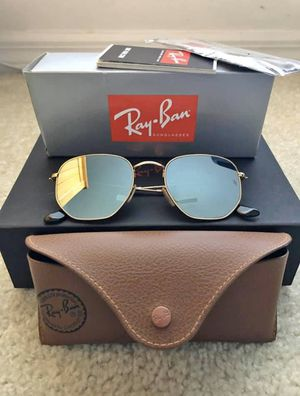 Ray ban sunglasses hexagonal. for Sale in Tampa, FL