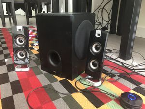 Audio Speakers with bass for Sale in Boston, MA