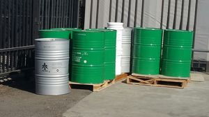 Mint condition Food Grade no chemical Like new 55 gallons metal drums $15each for Sale in Fontana, CA