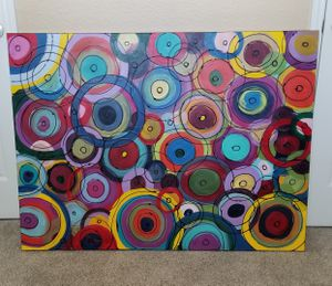 """Art Circle Painting 48""""x2""""x36"""" for Sale in Dallas, TX"""
