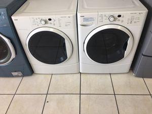 Kenmore frontload washer dryer set $39 down. No credit needed for Sale in Azalea Park, FL