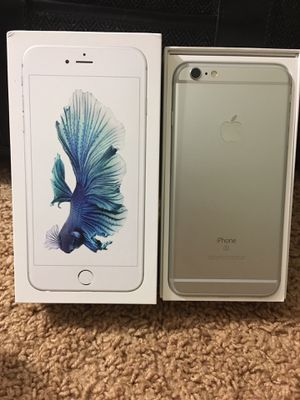 iPhone 6S PLUS CARRIER AND ICLOUD UNLOCKED for Sale in Silver Spring, MD