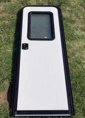 Dexter RV Camper Trailer Door with Screen door 23.5x71.5 for Sale in Poway, CA