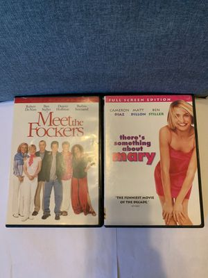 MEET THE FOCKERS & THERE'S SOMETHING ABOUT MARY for Sale in Hoboken, NY