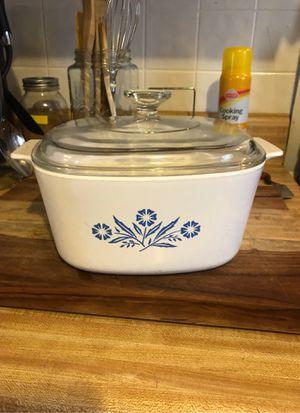 Corningware® Blue Cornflower 3-liter Casserole Dish for Sale in Greenville, SC
