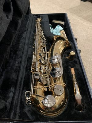 Tenor Saxophone - Jupiter Carnegie XL CTS-80 - 2007 Nickel/Gold Plated for Sale in Beaverton, OR